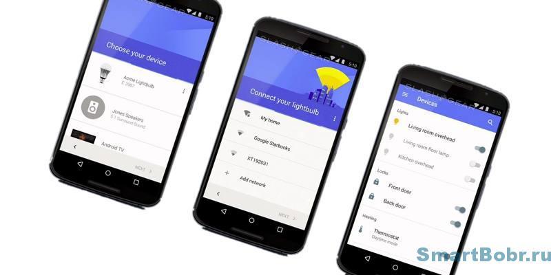 Google Home устройства