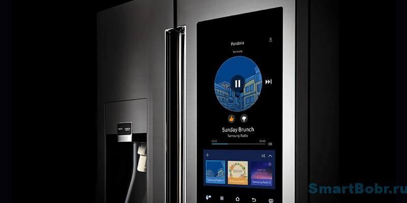Умные холодильники Samsung Family Hub
