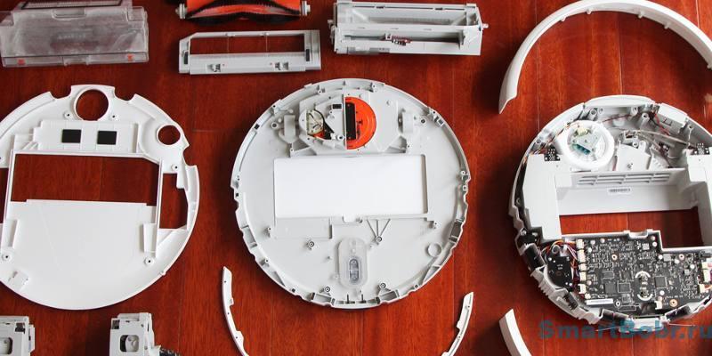 Xiaomi Mi Robot Vacuum конструкция