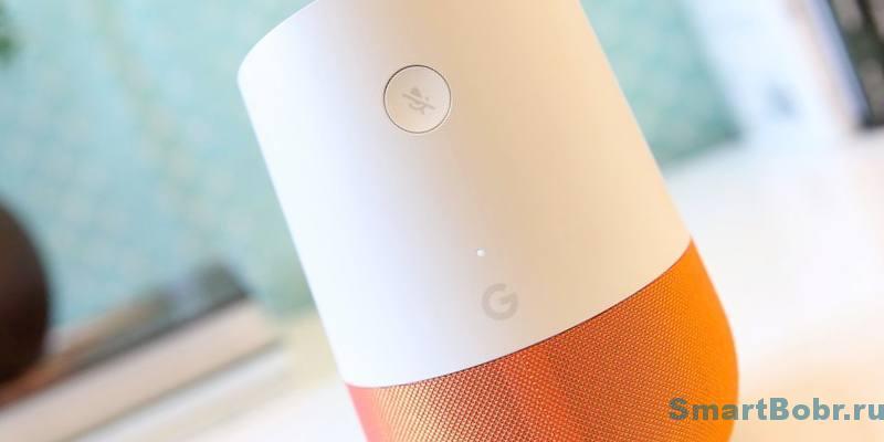микрофон google home