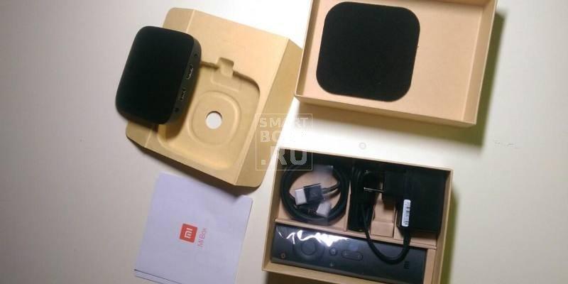 Xiaomi Mi TV Box 3 комплект