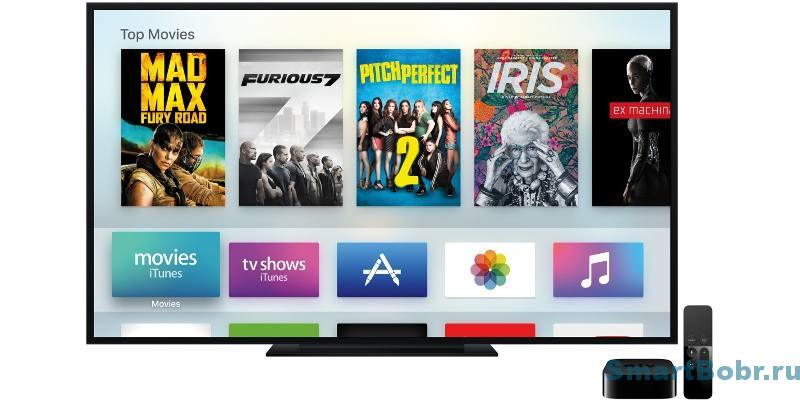 apple tv 4 экран