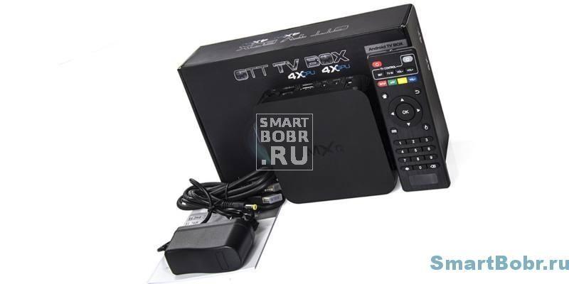 MXQ TV Box комплектация