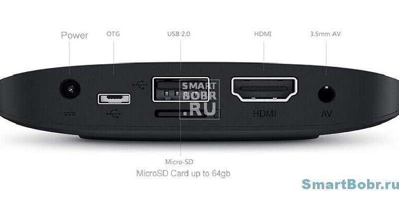 Xiaomi Mi TV Box 3 разъемы