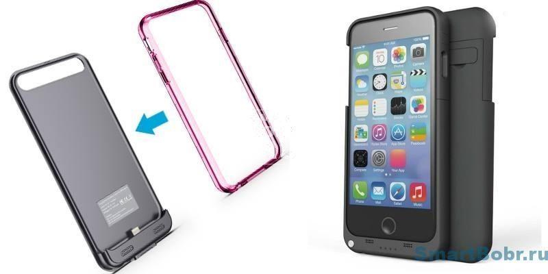 чехол-батарея для iPhone