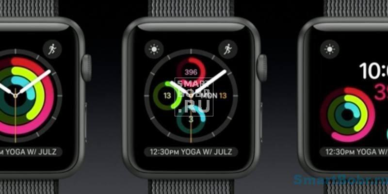 Apple Watch Series 2 Активность