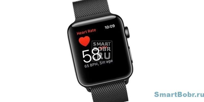 Apple Watch Series 2 пульсометр