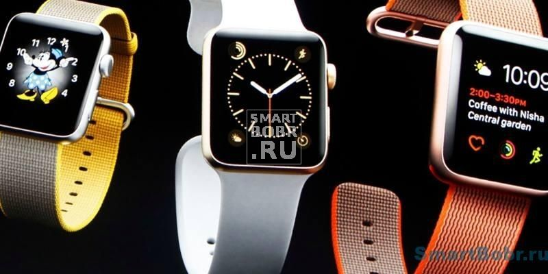 Apple Watch Series 2 ремешки