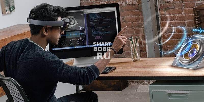очки vr Microsoft HoloLens