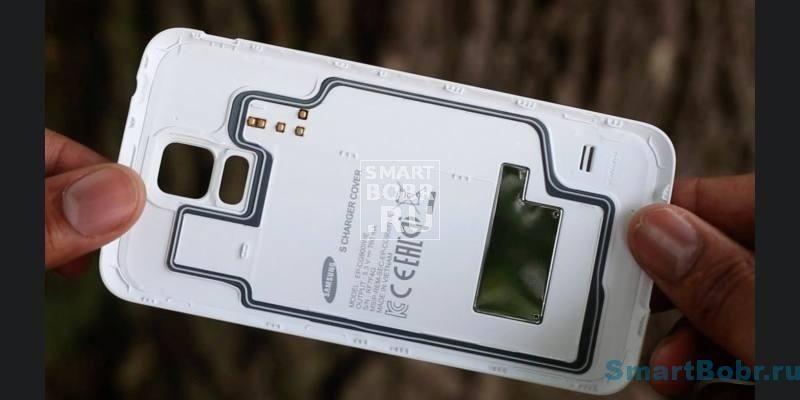 Qi-крышка для Galaxy S5