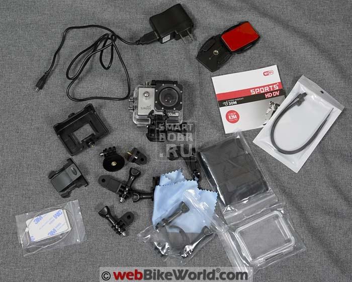 sjcam-sj4000-sports-kit-contents
