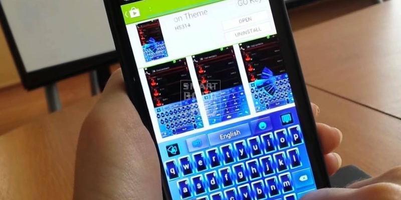 клавиатура для Андроид GO KEYBOARD
