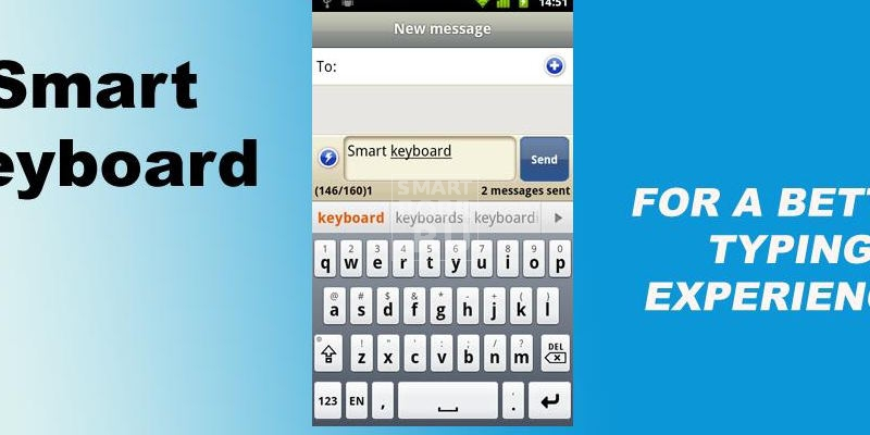 клавиатура для Андроид SMART KEYBOARD PRO