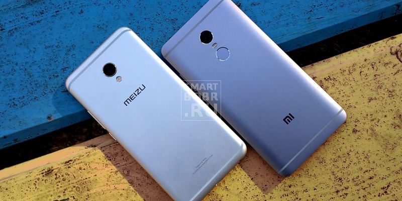 Meizu MX6 против Xiaomi Redmi Note 4