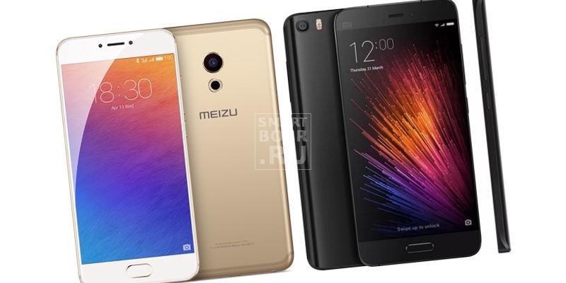 Meizu Pro 6 против Xiaomi Mi5