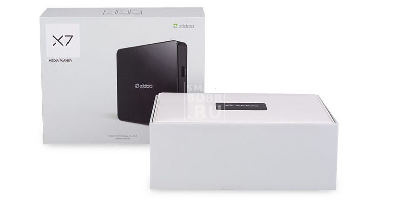 коробка Zidoo X7