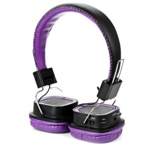 AT-BT814 Bluetooth Rotatable Стерео Purple наушники