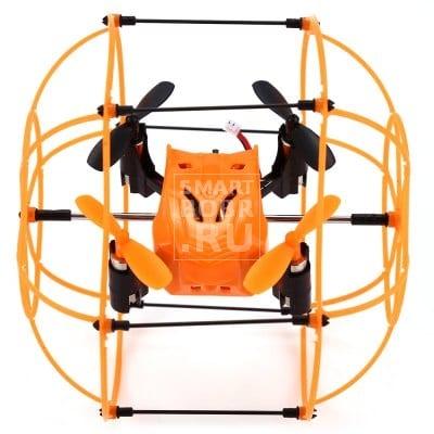 Helic Max Sky Walker 1336 4 Channel 2.4G радиоуправляемый Квадрокоптер 3D опрокидывание Copter with Climbing / Walking / Flying Function