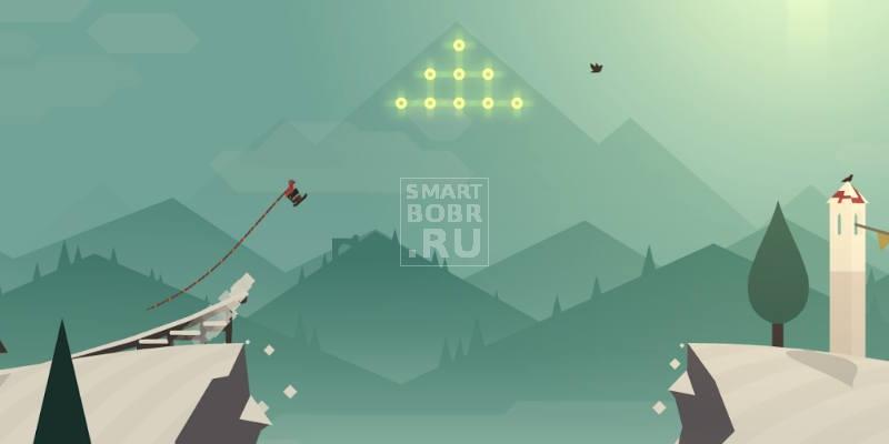 Игр на андроиде без интернета: Alto's Adventure