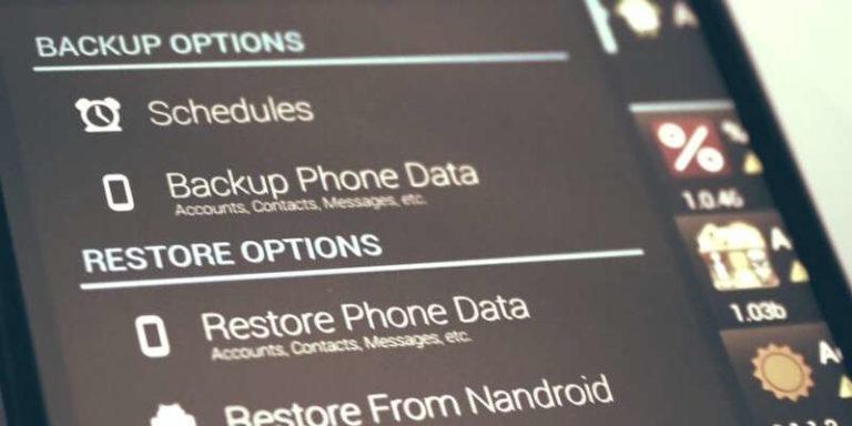 Как сделать бэкап на андроид без рута