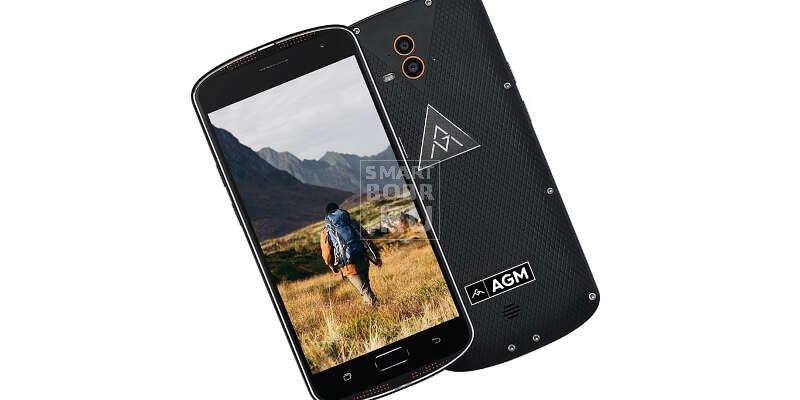 Защищенные смартфоны AGM X1