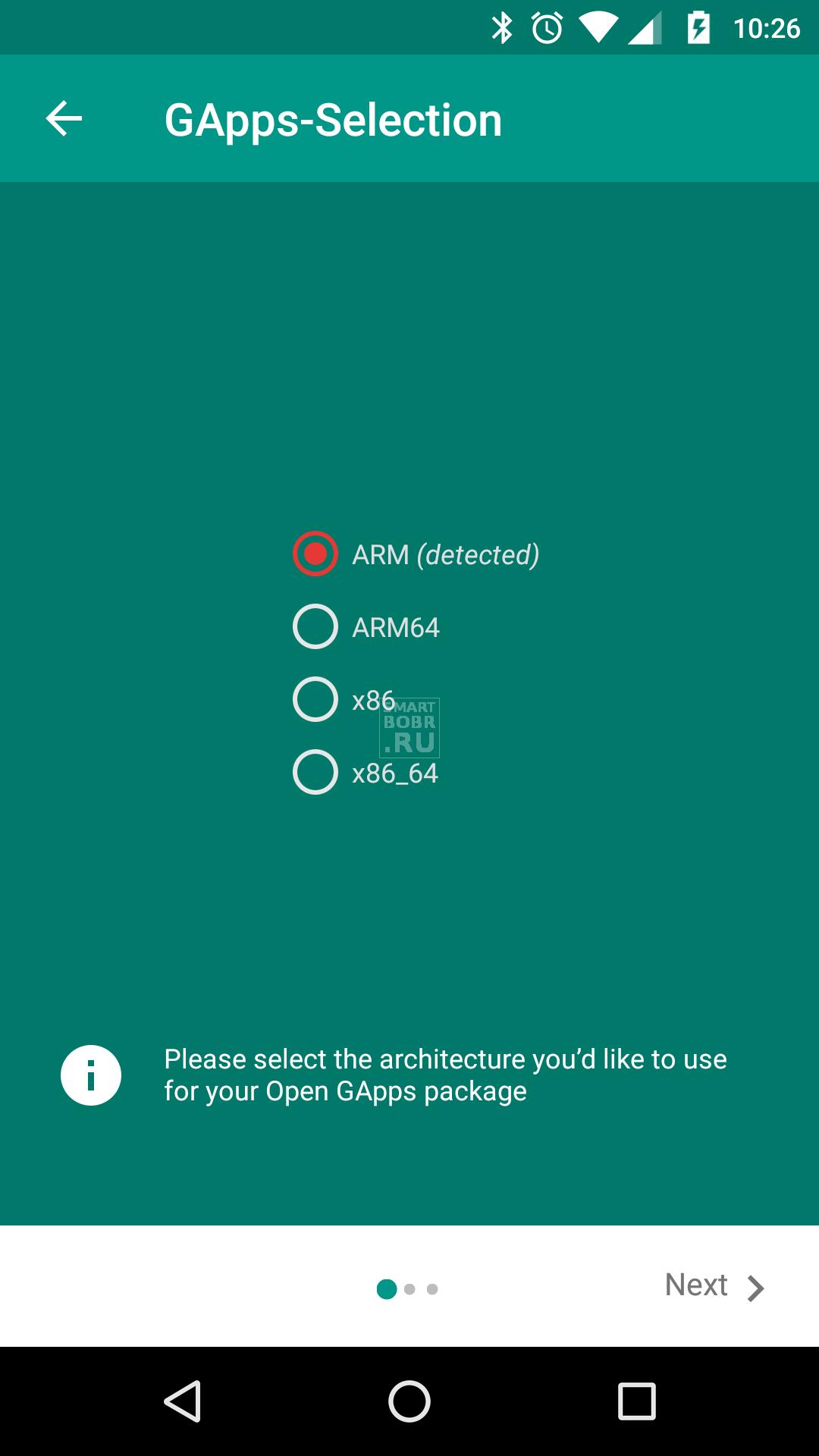Скачать сервисы Google Play с помощью Open GApps
