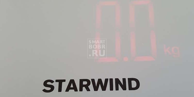 напольные весы StarWind SSP5451