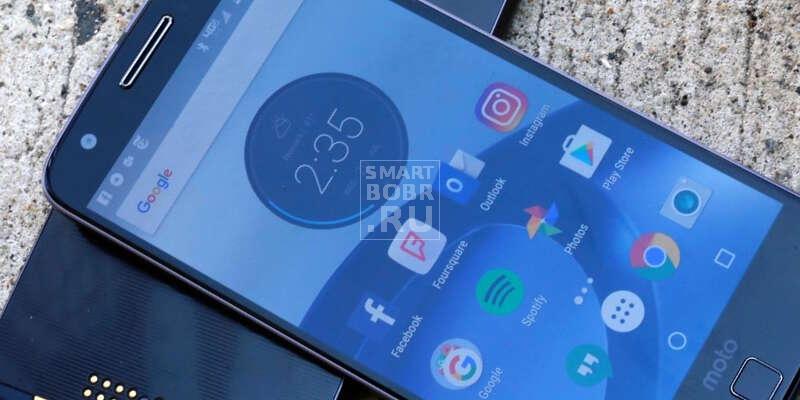 тонкий смартфон в мире Motorola Moto Z