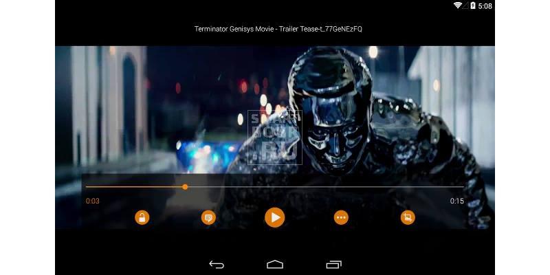 видеоплеер для Андроид VLC
