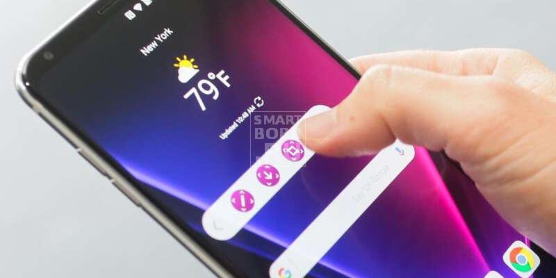 Новые телефоны LG V30