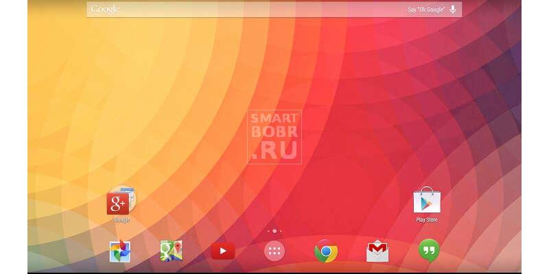 лучший лаунчер для Андроид Google Старт