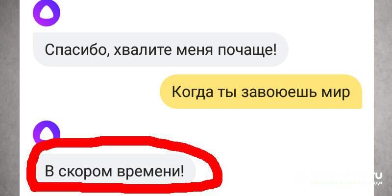 Яндекс Алиса - не доверяй