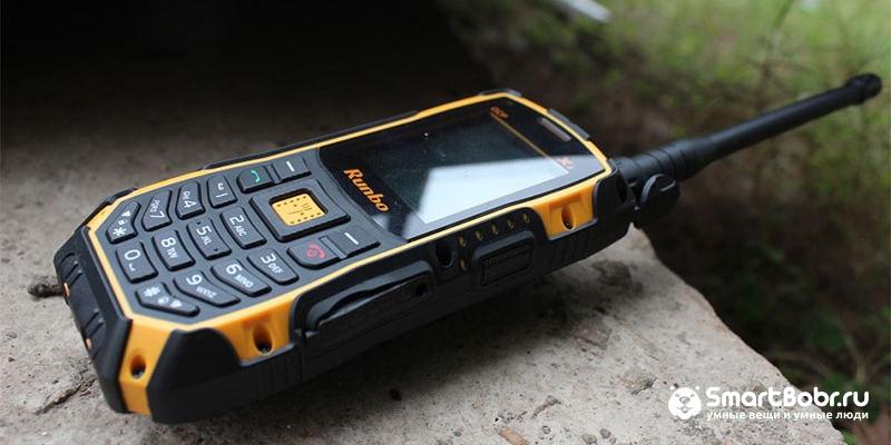 кнопочные телефоны Runbo X1