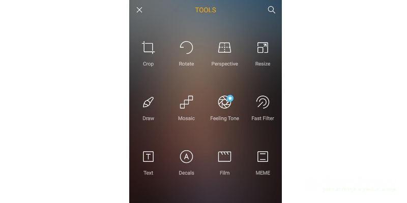 Фоторедактор для Андроид Toolwiz Photo