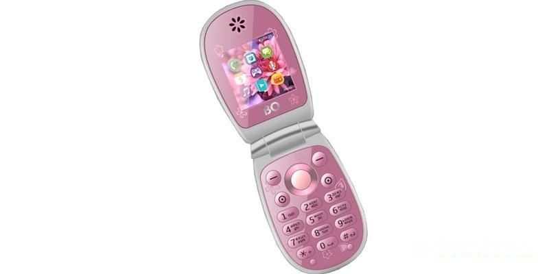 телефоны-раскладушки BQ BQM-1410 Flower