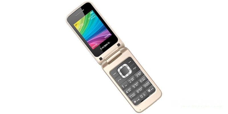телефоны-раскладушки TeXet TM-204