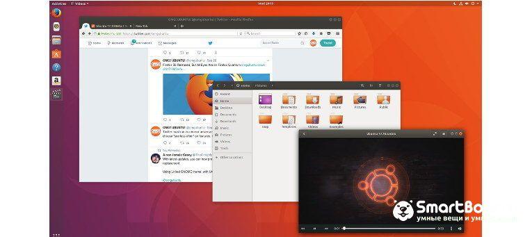 операционные системы Ubuntu