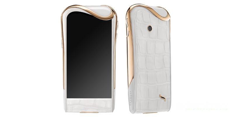 самые дорогие телефоны в мире Savelli Jardin-Secret White Ice