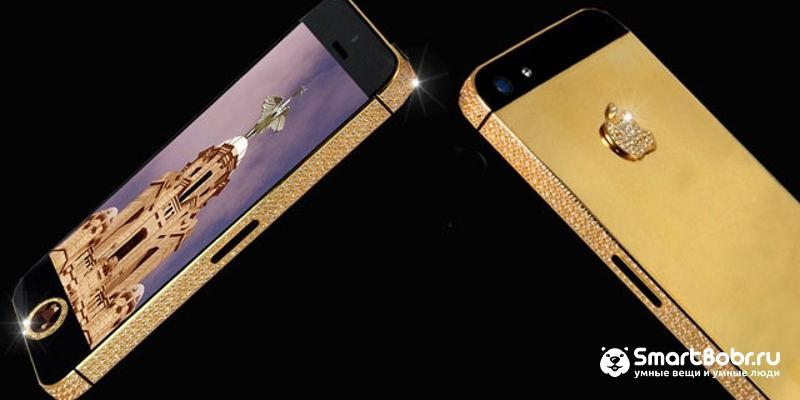 самые дорогие телефоны в мире iPhone 6 Black Diamond