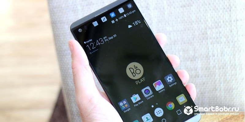 телефон с двумя экранами LG V20