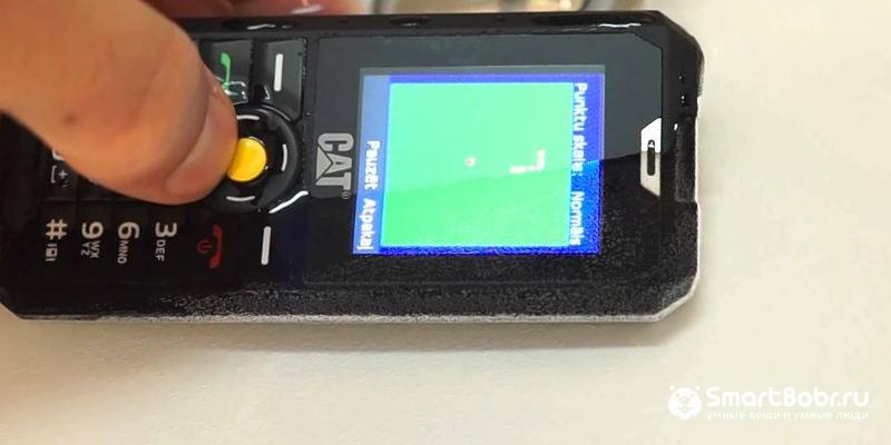 водонепроницаемый телефон Caterpillar Cat B30