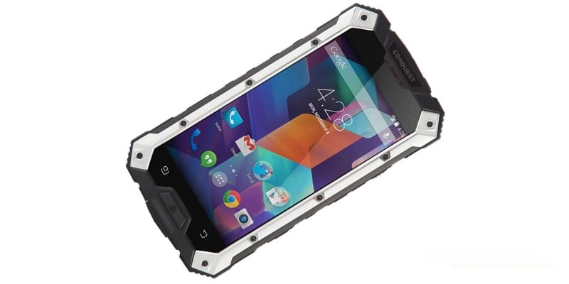 водонепроницаемый телефон Conquest S6 OCTA