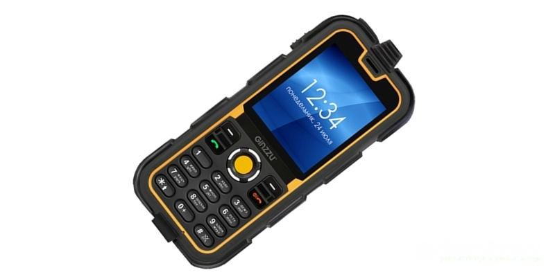 водонепроницаемый телефон Ginzzu R62