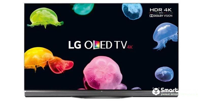 Лучшие телевизоры LG OLED65E6V