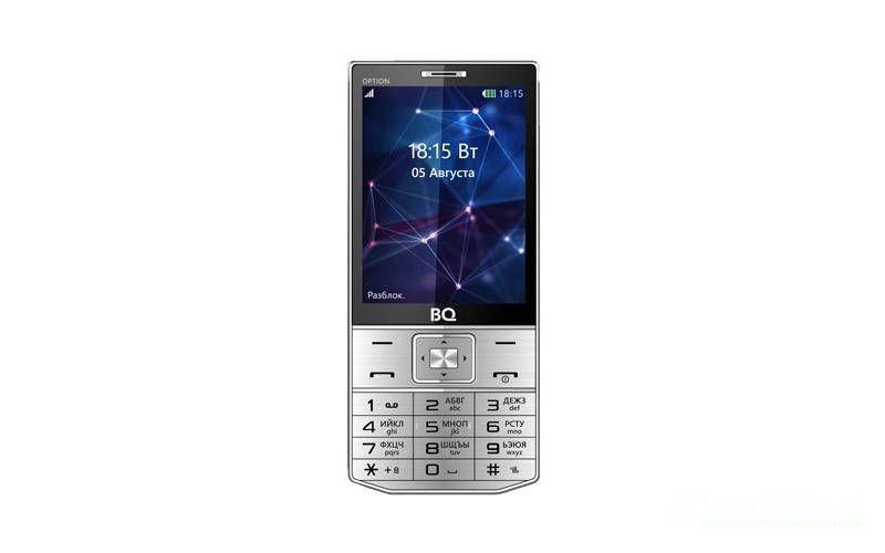 BQ-3201 Option телефон с металлическим корпусом