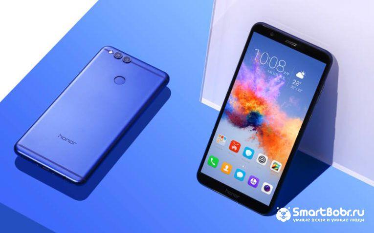 Honor 7X - смартфон до 20000 рублей
