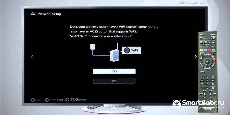 Как подключить телевизор Sony к Интернету