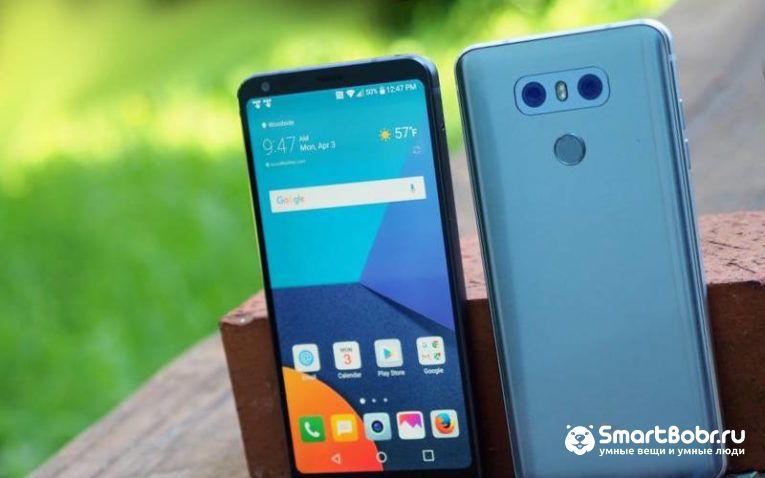 LG G7 смартфоны 2018 года новинки