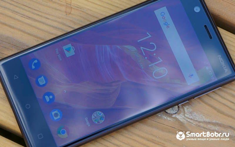 Лучшие смартфоны до 10000 рублей - Nokia 3