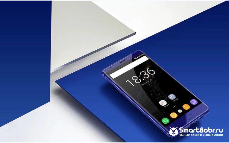 Oukitel K8000 смартфон с металлическим корпусом
